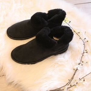 UGGS Ankle Black Boots